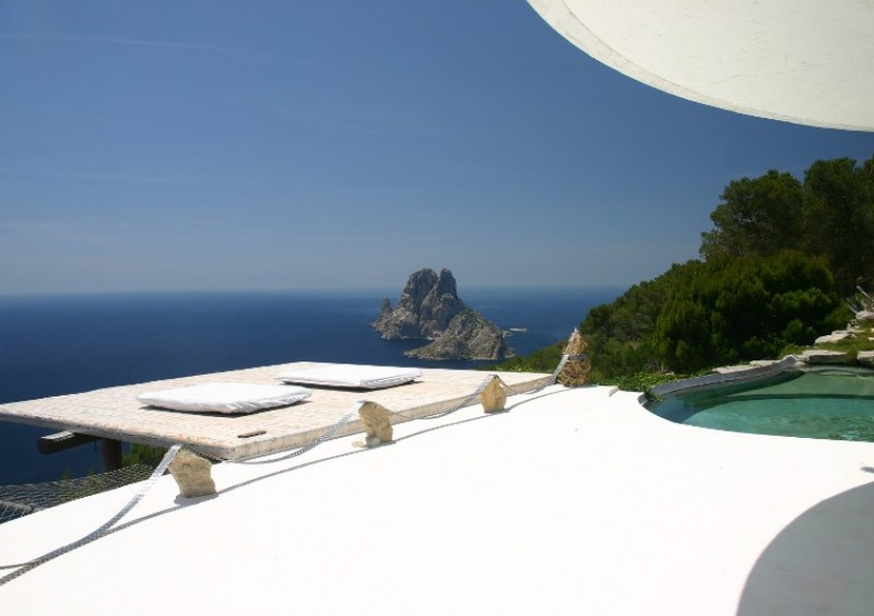 Villa with fantastic sea view in Es Cubells, Ibiza-51011