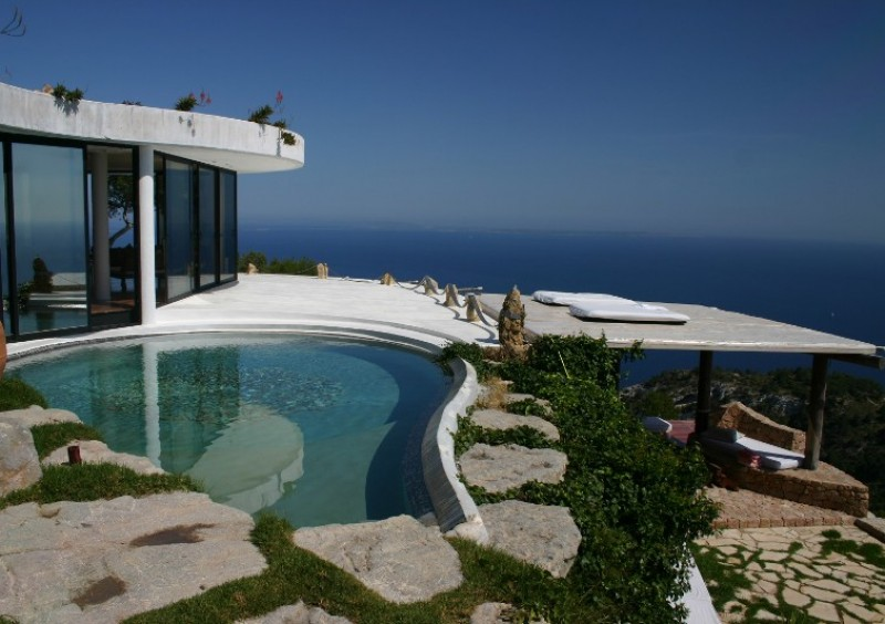 Villa with fantastic sea view in Es Cubells, Ibiza-51013