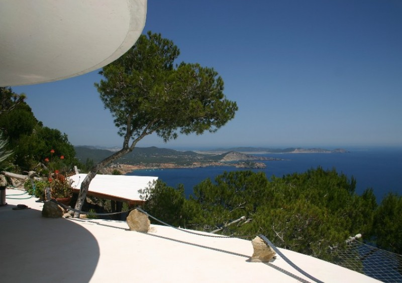 Villa with fantastic sea view in Es Cubells, Ibiza-51016