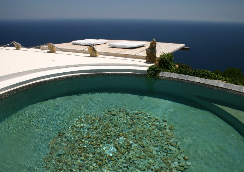 Villa with fantastic sea view in Es Cubells, Ibiza-51017
