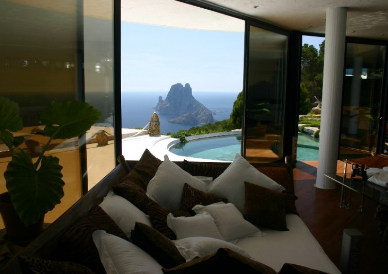 Villa with fantastic sea view in Es Cubells, Ibiza-51020