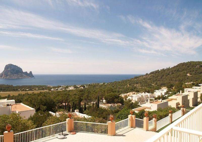 Villa in Cala Carbo mit Blick auf Es Vedra und das Meer-55123