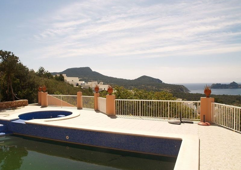 Villa in Cala Carbo mit Blick auf Es Vedra und das Meer-55124