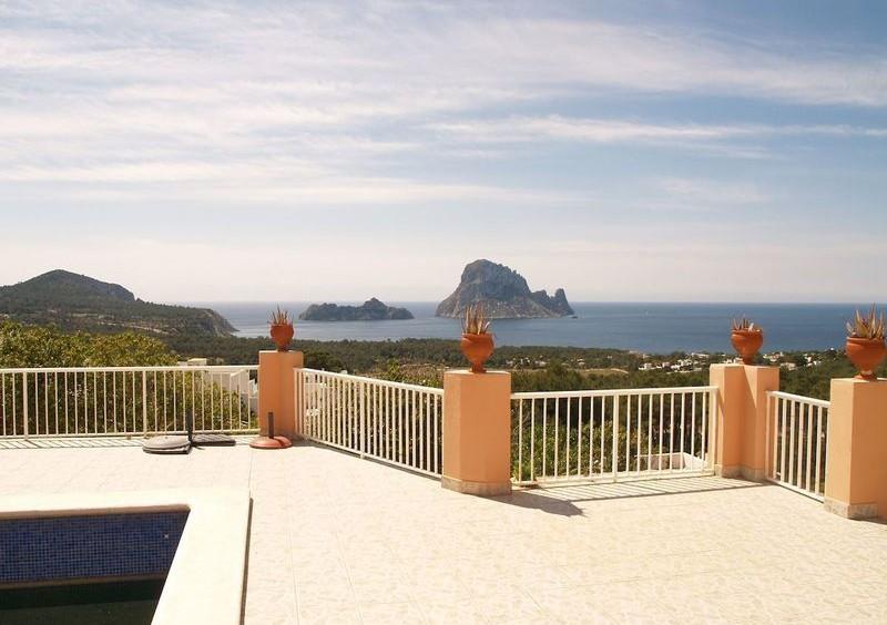 Villa in Cala Carbo mit Blick auf Es Vedra und das Meer-55125