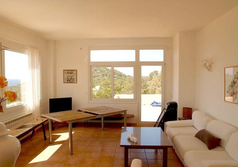 Villa in Cala Carbo mit Blick auf Es Vedra und das Meer-55129
