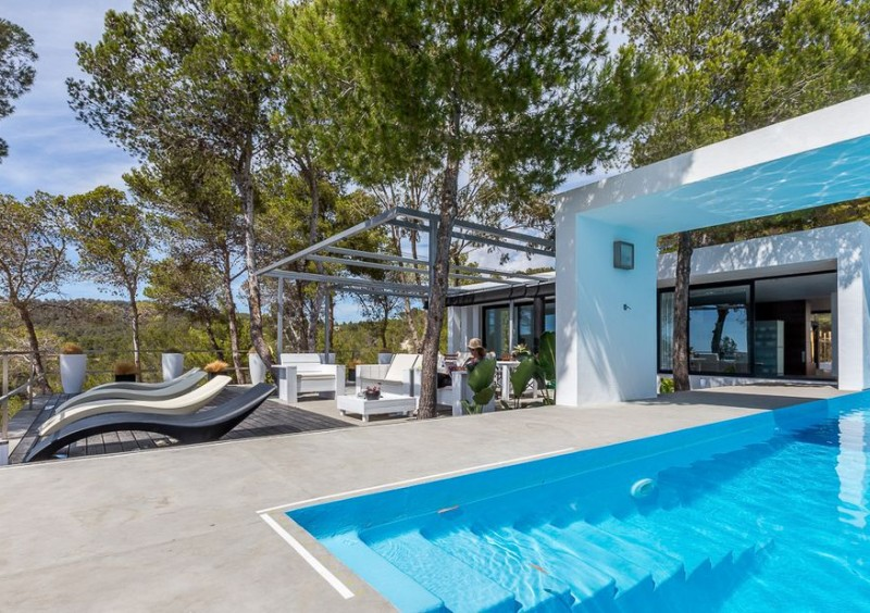 Villa in Cala Vadella with amazing sea views-CVE55613