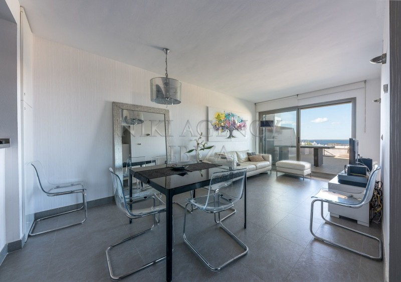 Penthouse in Cala Tarida with seaview-AVE10919