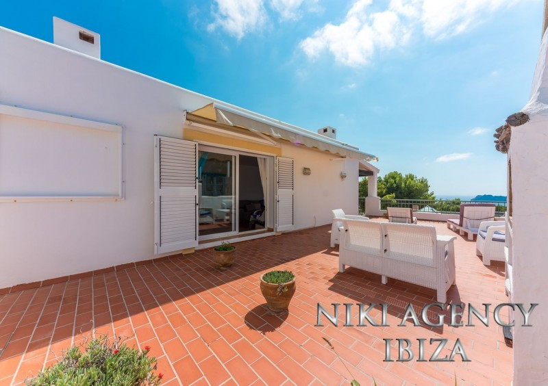 Apartment in Cala Carbo Ibiza with fantastic seaview