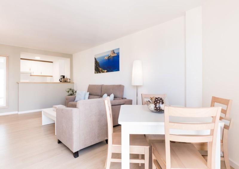 Apartamento en primera línea del mar en Cala de Bou