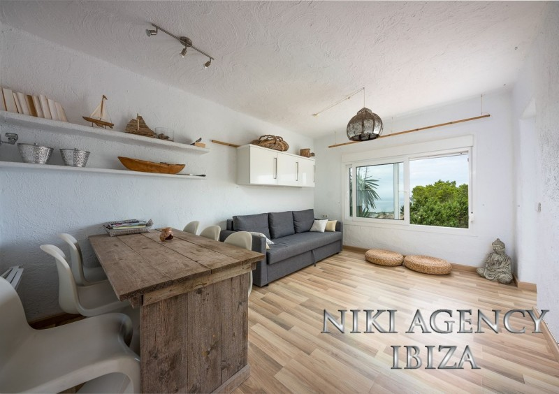 Apartment in Cala Vadella with sea view