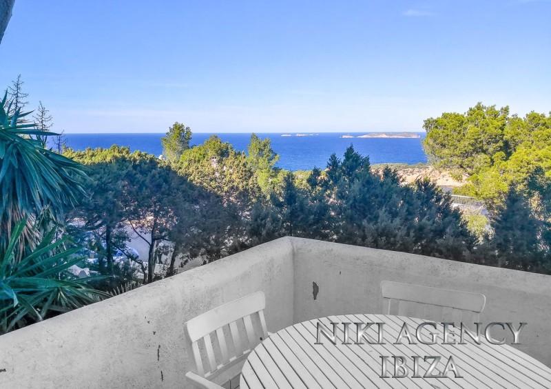Apartamento en Cala Vadella con vista al mar