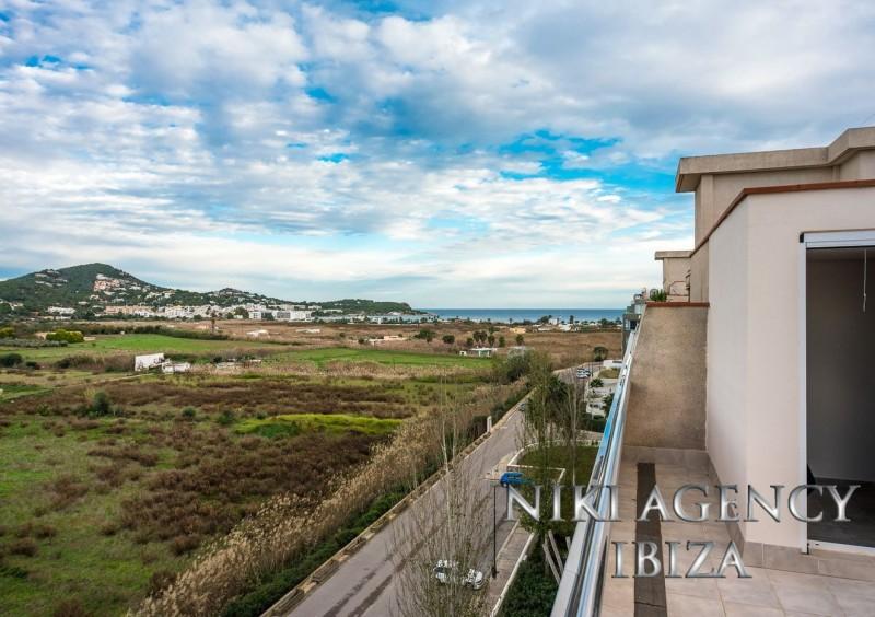 Ático en Ibiza Marina Botafoch