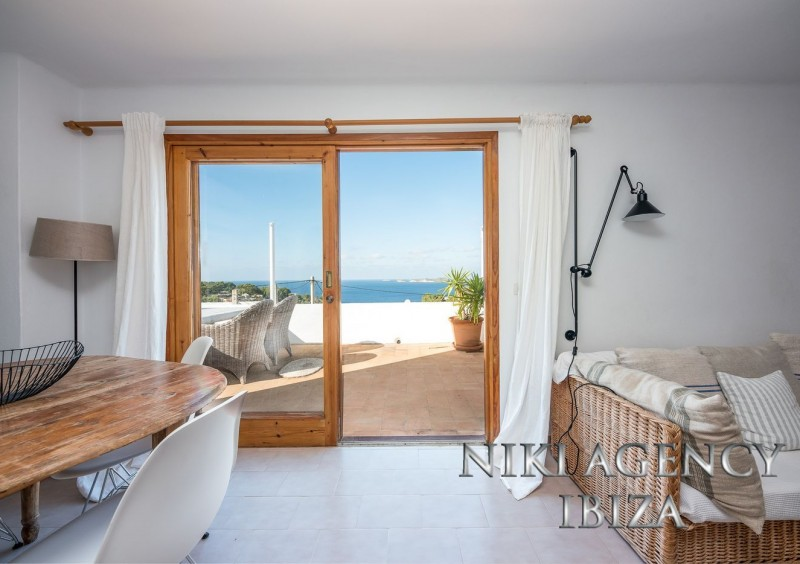 House in Cala Moli with sea views