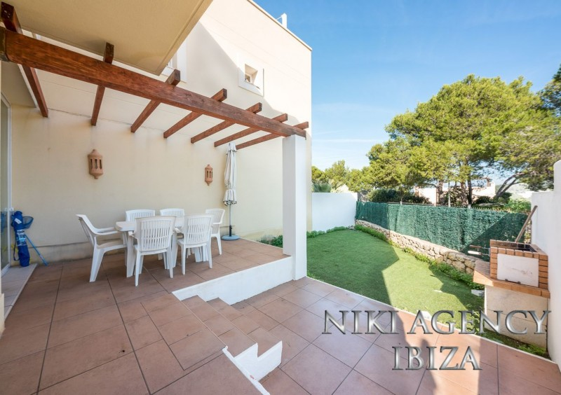 Terraced Villa In Cala Vadella Just 5 Minutes From The