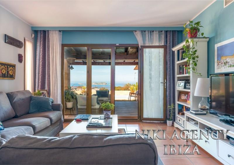 Casa in Cala Moli Cala Tarida con vistas al mar