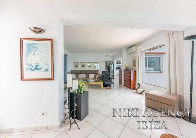 Villa in Ibiza San Miguel with sea view