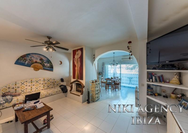 House in Cala Tarida Ibiza with 2 bedrooms