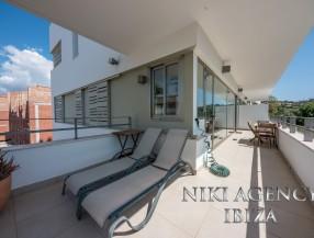 Moderne Wohnung in Ibiza Jesús mit 2 Schlafzimmer