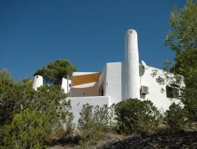 Casa en Cala Vadella Ibiza con vistas al mar