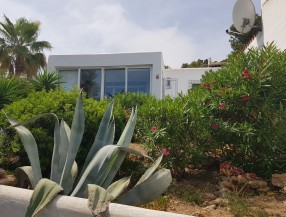 Bungalow in Ibiza Cala Vadella with 2 bedrooms