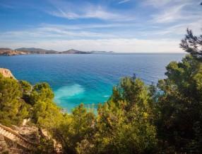 Villa en Ibiza Es Cubells con vistas al mar