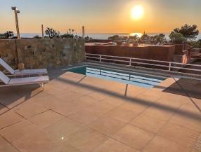 Casa adosada en Ibiza Cala Moli con vistas al mar