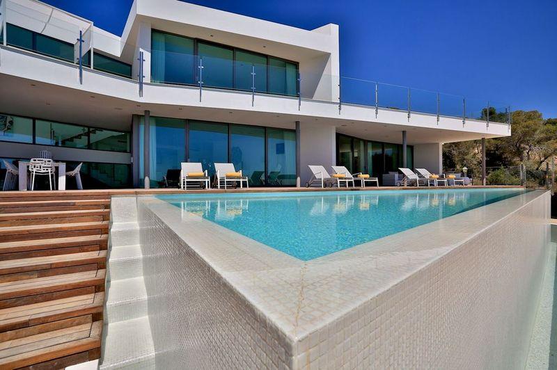 New villa with fantastic sea view in Es Cubells, Ibiza-57553
