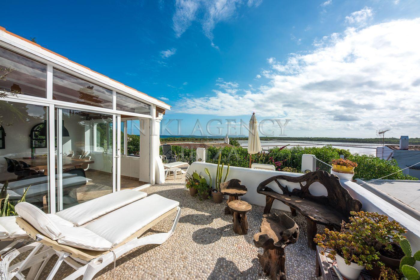 House in Las Salinas Ibiza with 4 bedrooms-CVE01531