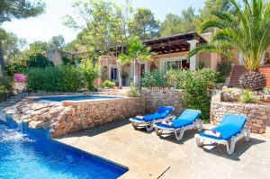 House in San Jose Ibiza with tourist licence