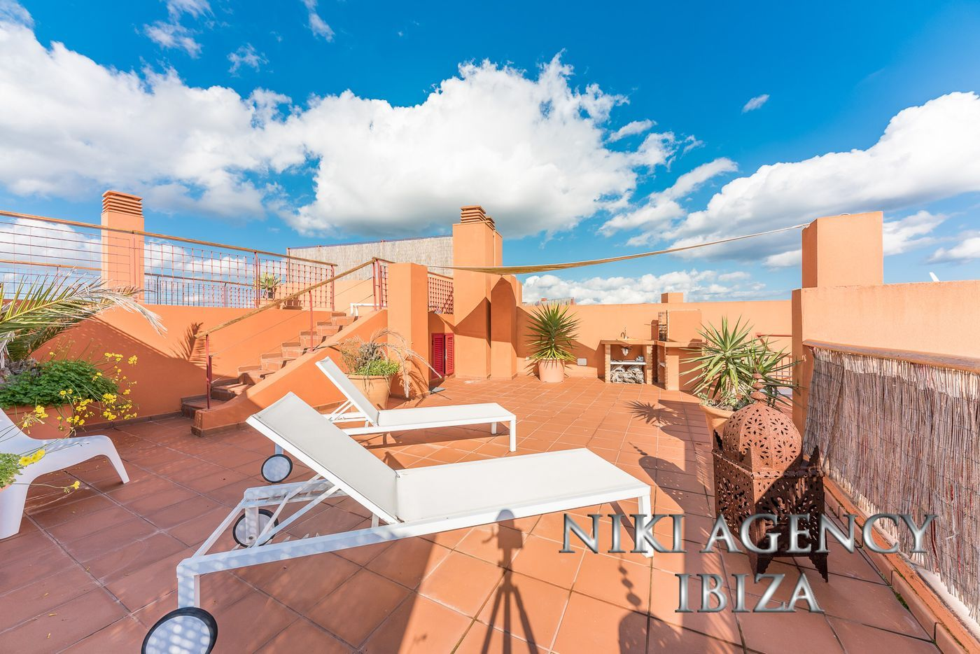 Attic in roca llisa with private pool niki agency ibiza your real estate agency in ibiza - Roca llisa ibiza ...